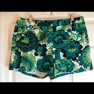 Ann Taylor Patterned Shorts